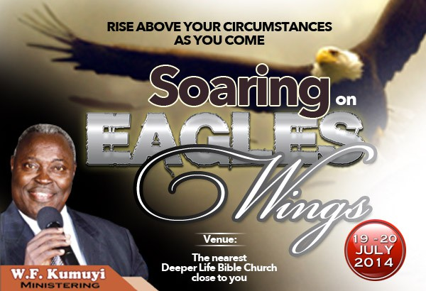 Soaring On Eagle's Wing