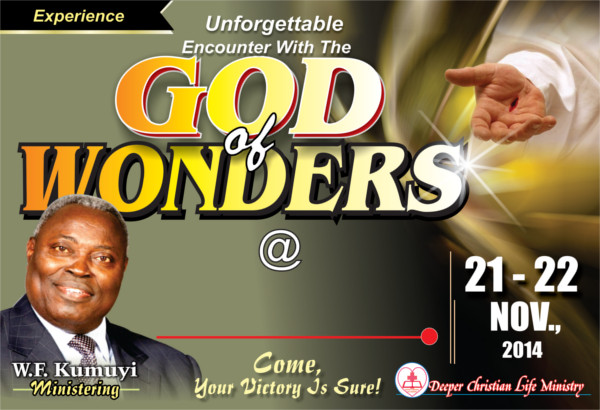 Unforgettable Encounter with the God of Wonders